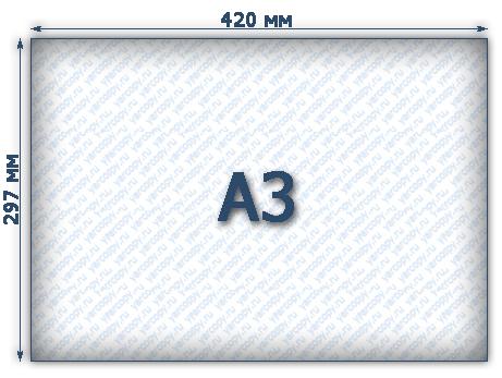 Как сделать а3 формат