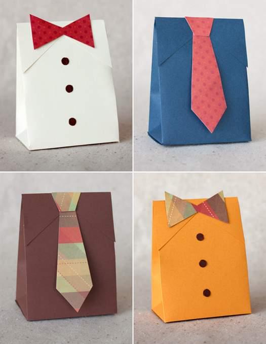 Сделать коробочки для подарков своими руками