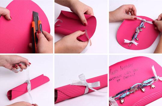 Подарки своими руками браслет
