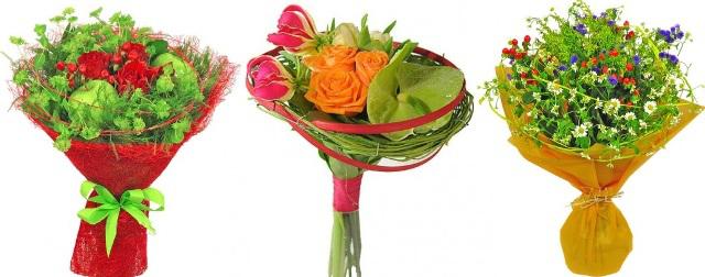 Красиво упаковать цветы видео