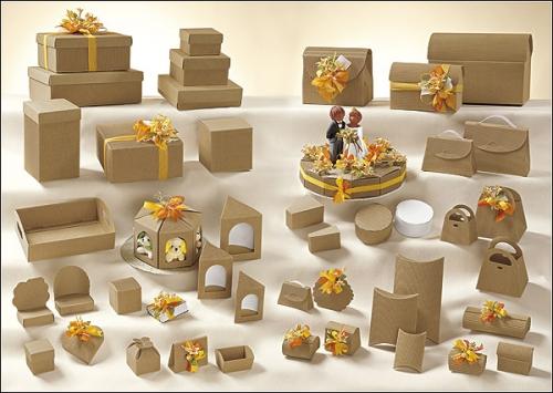 Виды картонных коробок