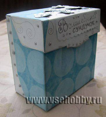 Как сделать шкатулку из коробки из под чая своими руками