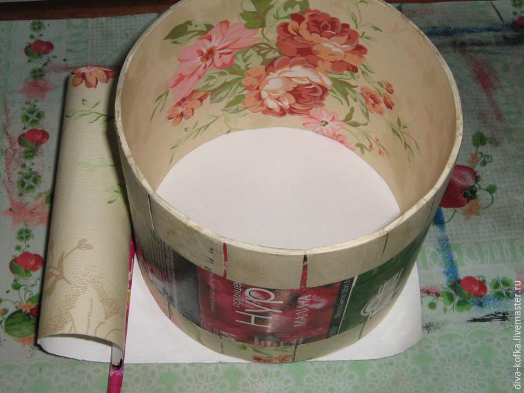 Как сделать круглую шкатулку своими руками