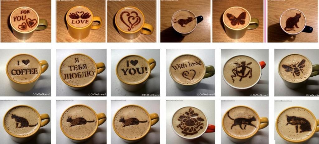 Как сделать узоры в кофе - Studentswear.ru