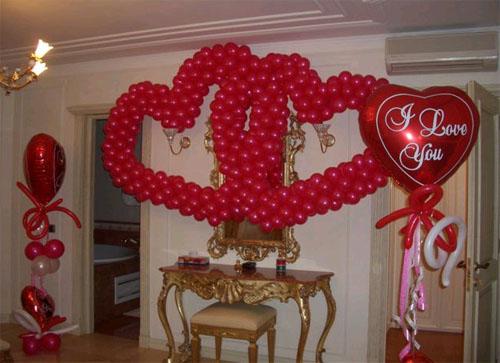 как украсить комнату невесты на свадьбу своими руками фото