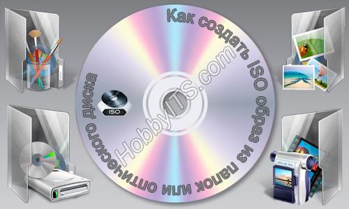 Как из iso сделать диск