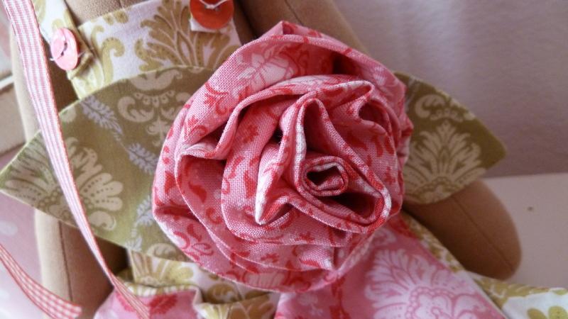 Цветок-брошь из ткани своими руками (мастер-класс) в 2019 году