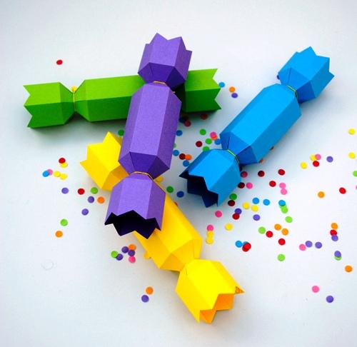 Бумажные конфеты своими руками фото