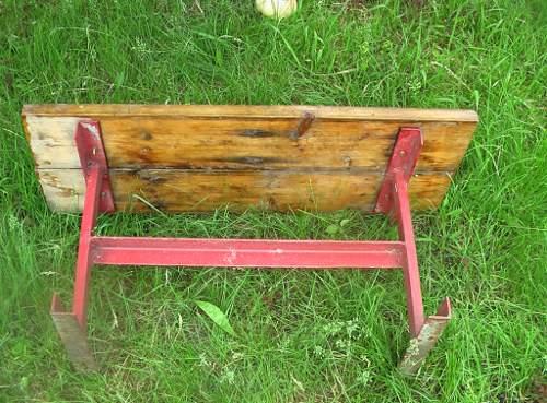Как сделать скамейку из уголка