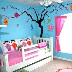 Как своими руками украсить комнату девочки