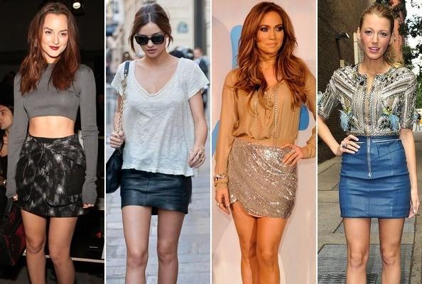 2012 для девушек в юбках: