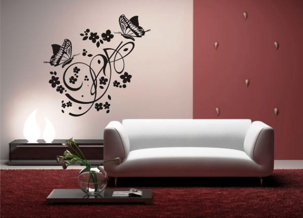 Рисунки на стенах своими руками в квартире