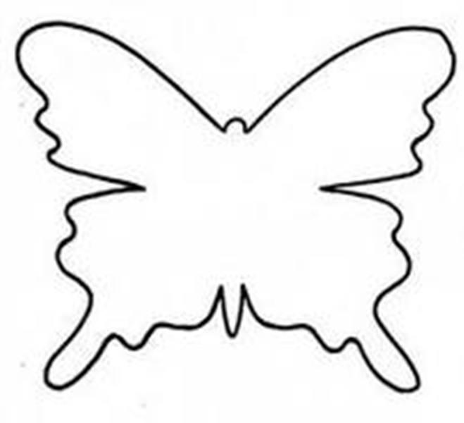 Бабочка для украшения своими руками