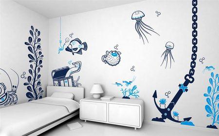 Трафареты для декора стены своими руками распечатать