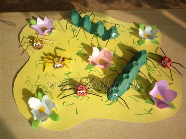 Летние поделки для детского сада фото 688