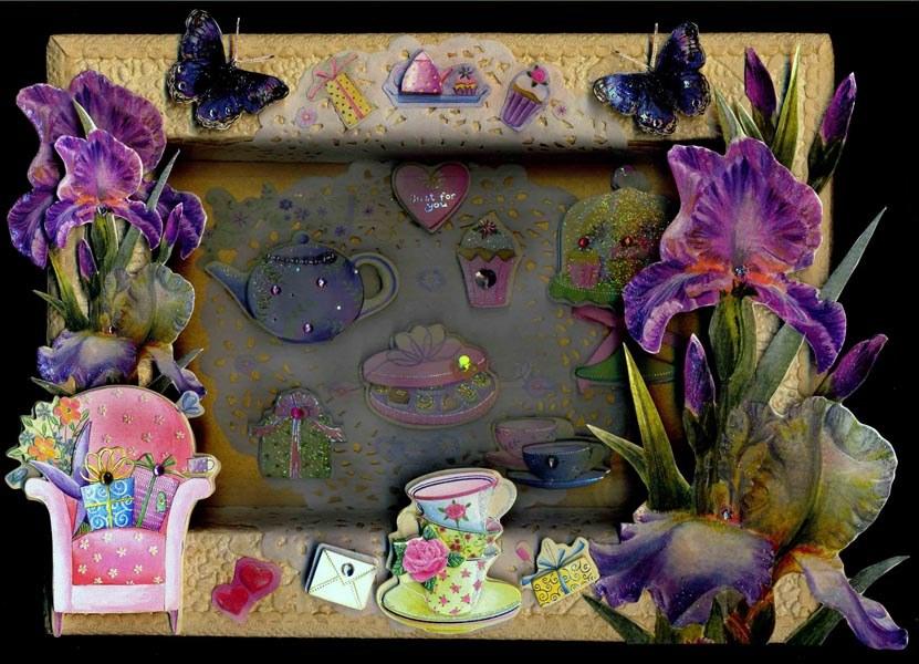 Картины из под коробок конфет