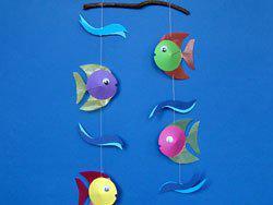 Как сделать рыбу своими руками ребенку