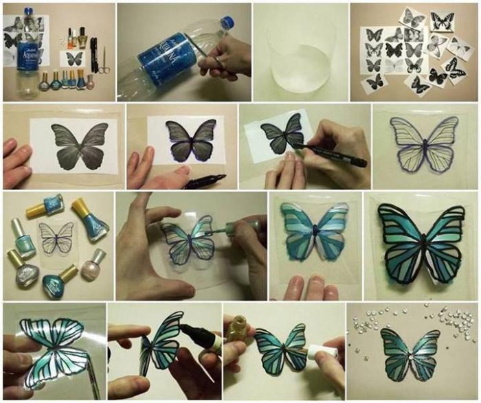 Делать бабочек своими руками