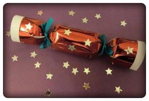 Как сделать хлопушку конфеты