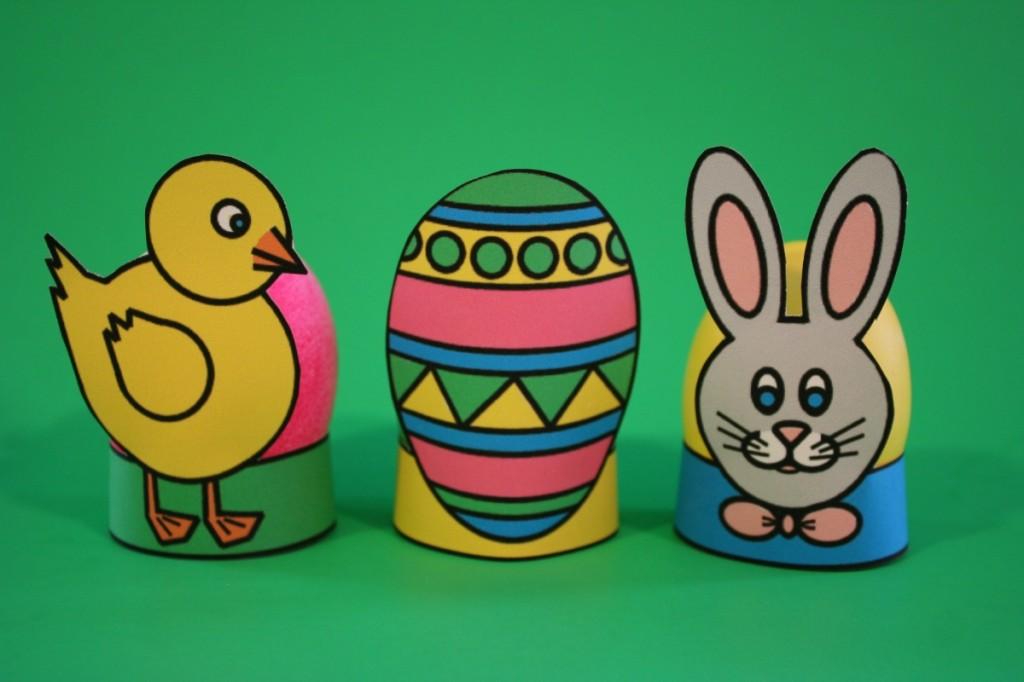 Подставка для яйца из бумаги