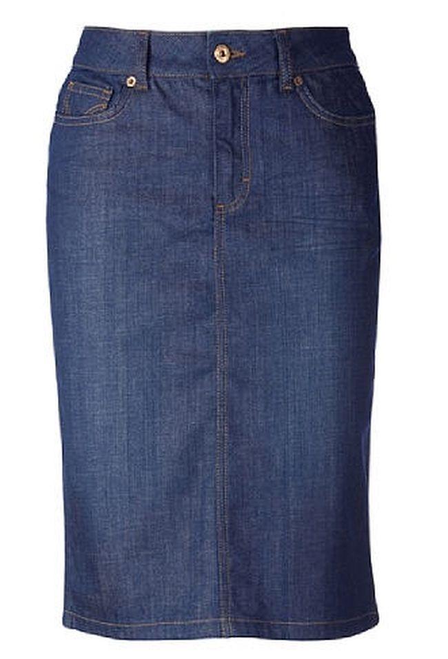 Сшить юбку карандаш из джинс как