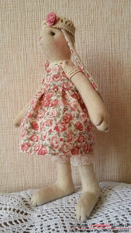 Как сделать куклу тильду заяц