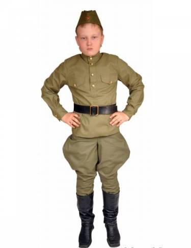 Сшить военную форму для мальчика своими руками
