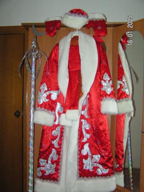 Как украсить костюм деда мороза своими руками